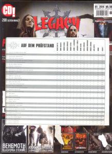 Legacy (soundcheck) jan 14